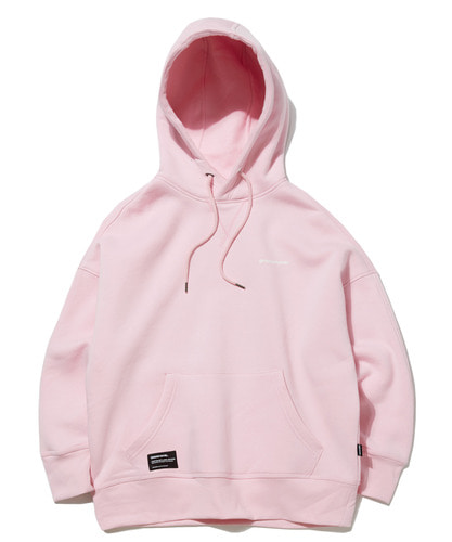 BASIC DROP OVER FIT HOODIE (PINK) [GHD022G43PI]