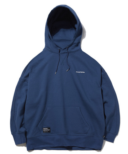 BASIC DROP OVER FIT HOODIE (BLUE NAVY) [GHD022G43NY]