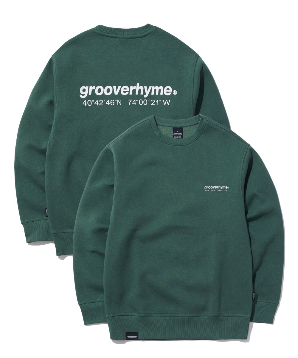 NYC LOCATION SWEAT SHIRTS (KHAKI) [GMT501H43KHA]