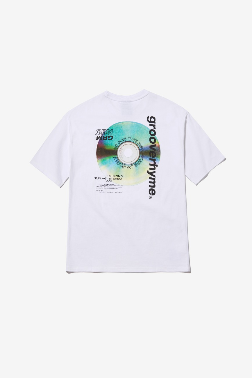 ALBUM PRINT OVER FIT T-SHIRTS (WHITE) [GTS013H23WH]