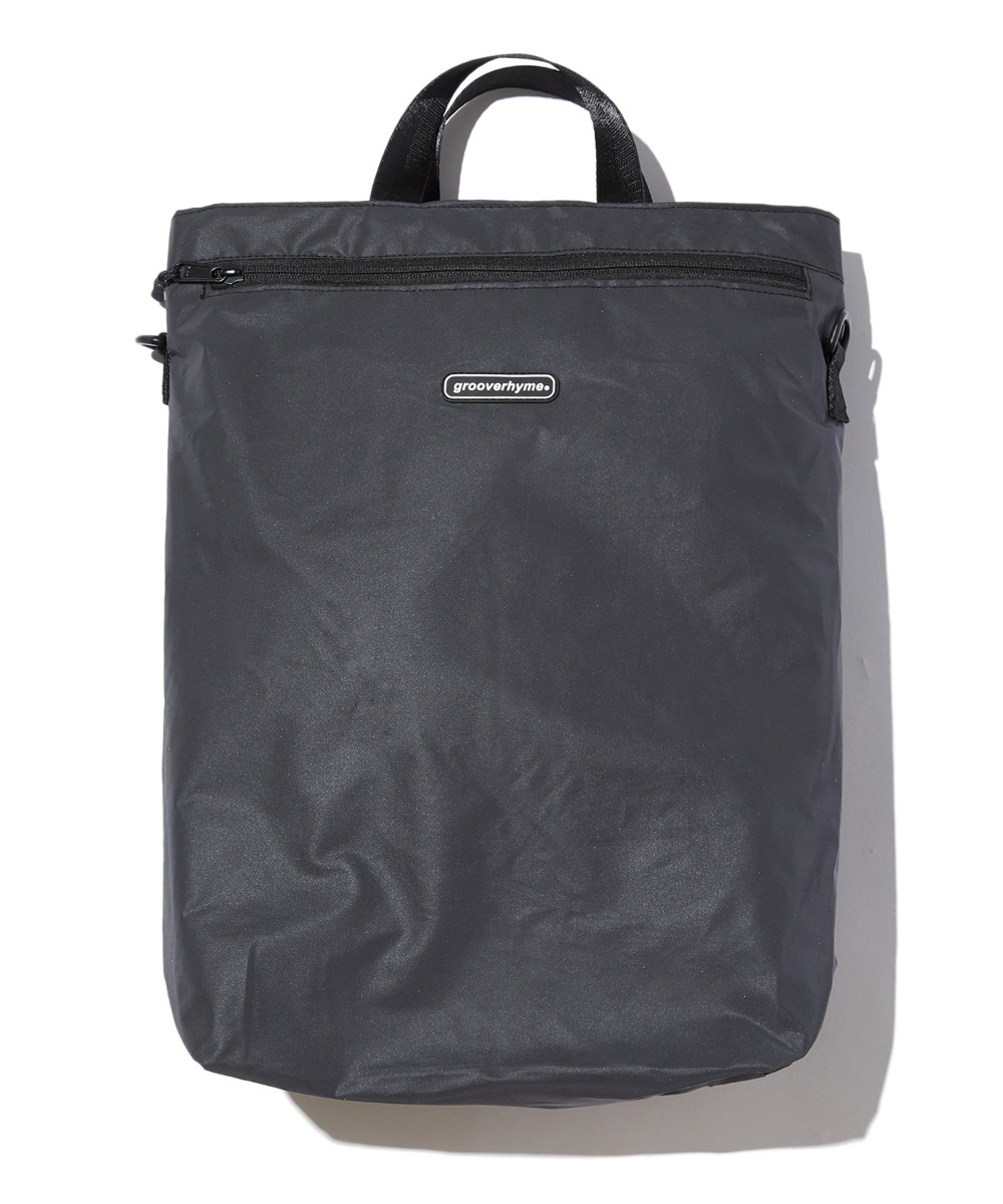 REFLECTIVE 3WAY BAG (BLACK) [GBG106H53BK]