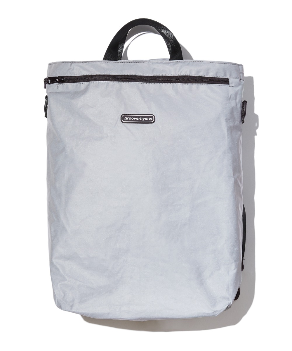 REFLECTIVE 3WAY BAG (GREY) [GBG106H53GY]