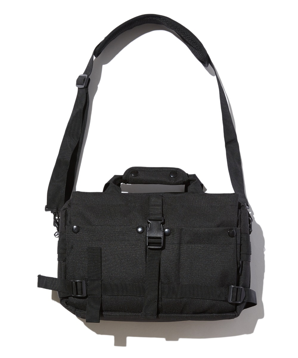 UTILITY MESSENGER BAG (BLACK) [GBG105H53BK]