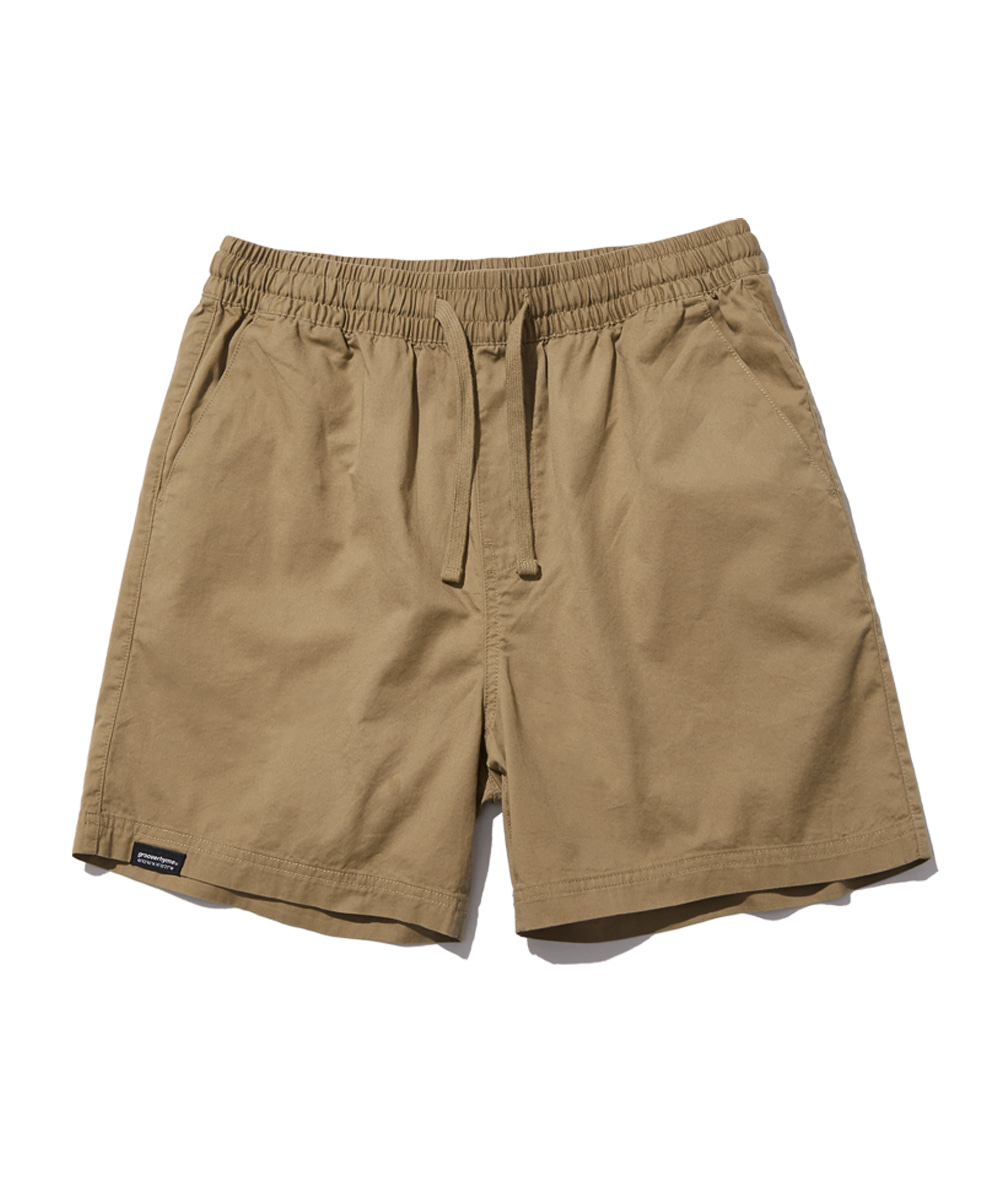 BASIC HALF PANTS (BEIGE) [GSP821I23BE]