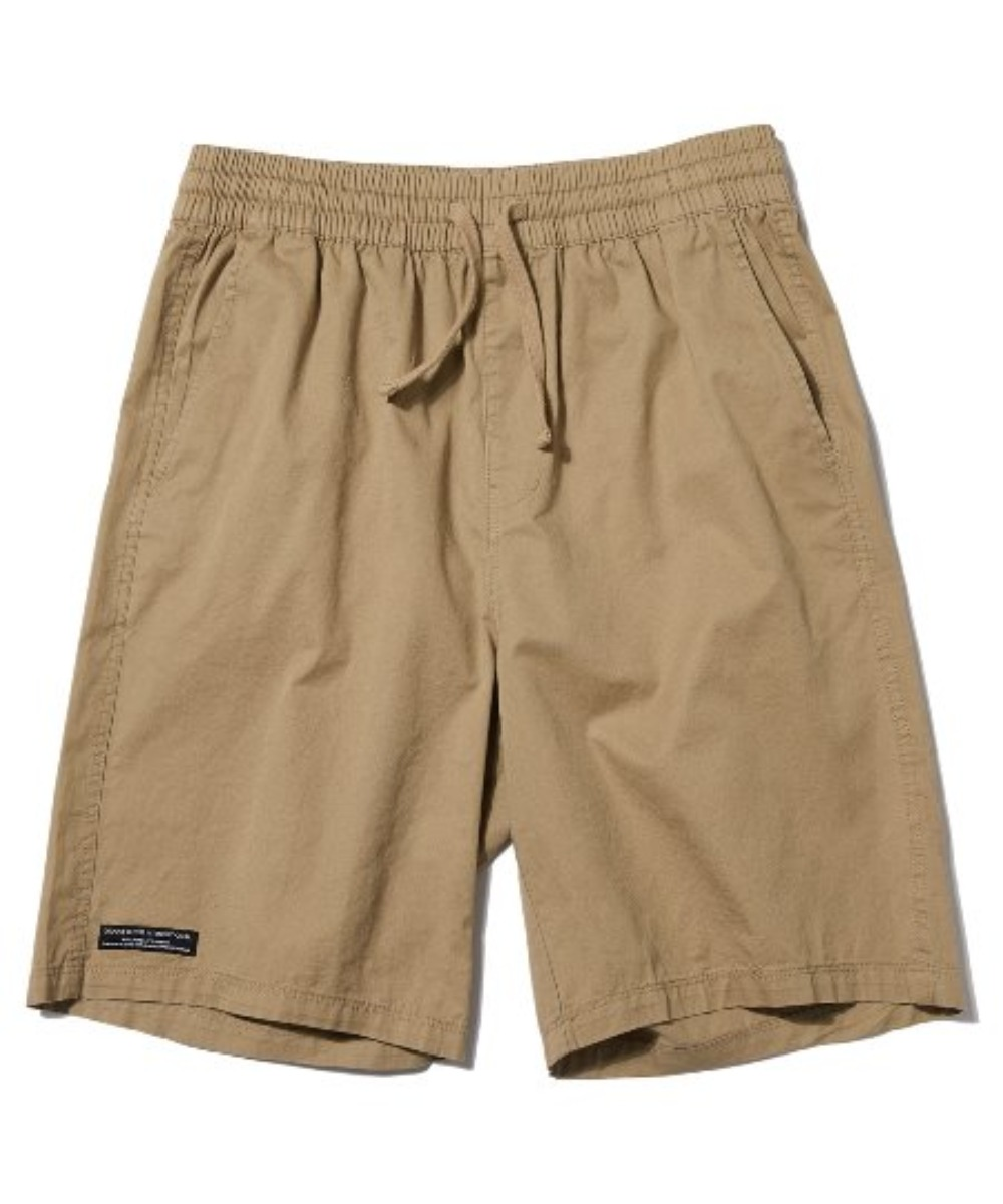 BASIC HALF PANTS (BEIGE) [GSP020H23BE]