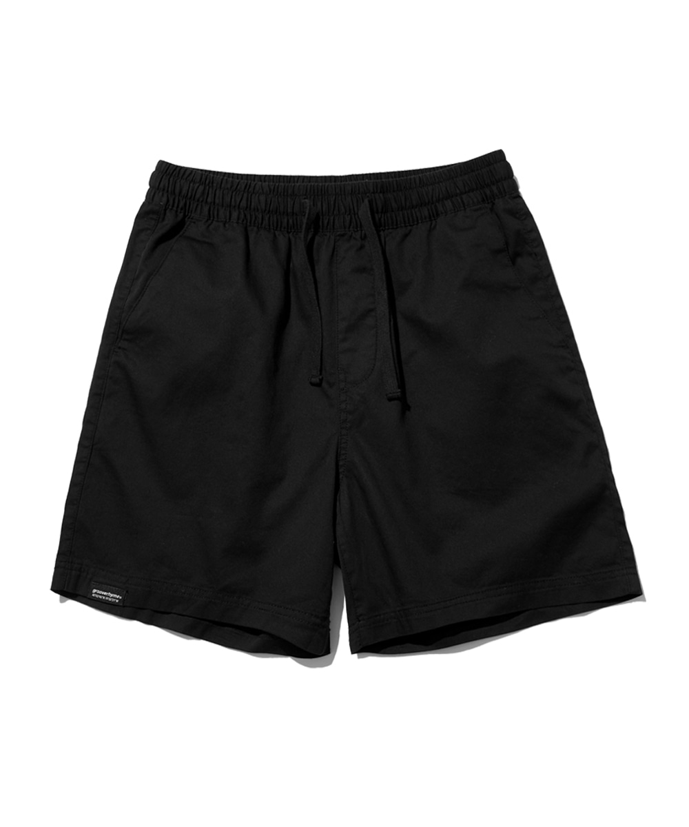 BASIC HALF PANTS (BLACK) [GSP821I23BK]