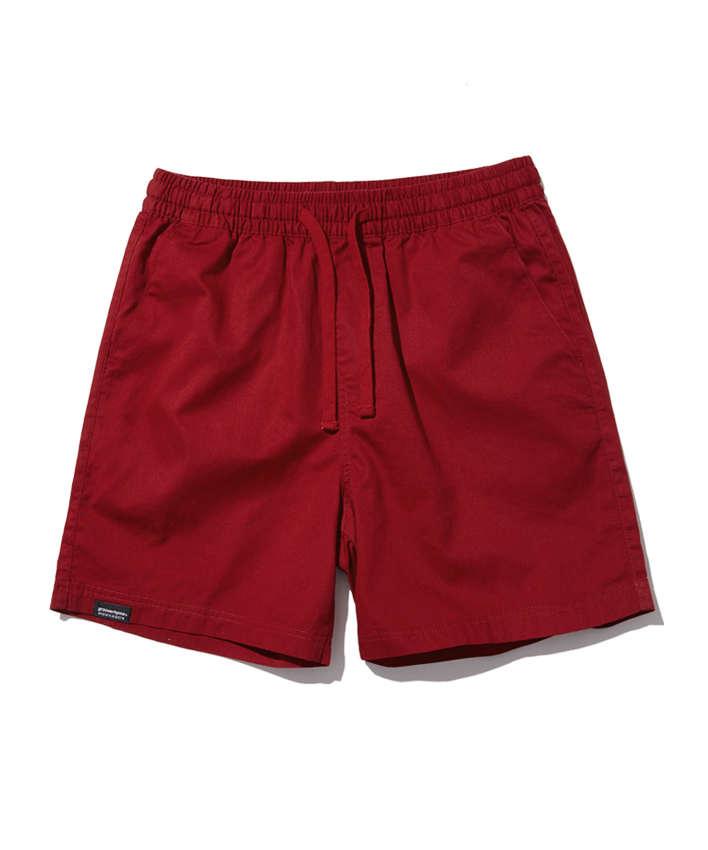 BASIC HALF PANTS (RED) [GSP821I23RE]