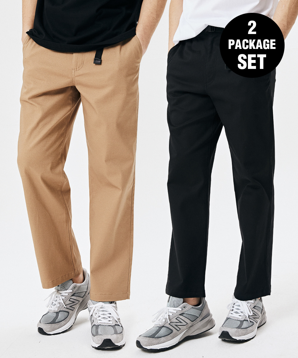 1+1 BUCKLE CHINO BANDING PANTS 3COLOR [GPT921I13]