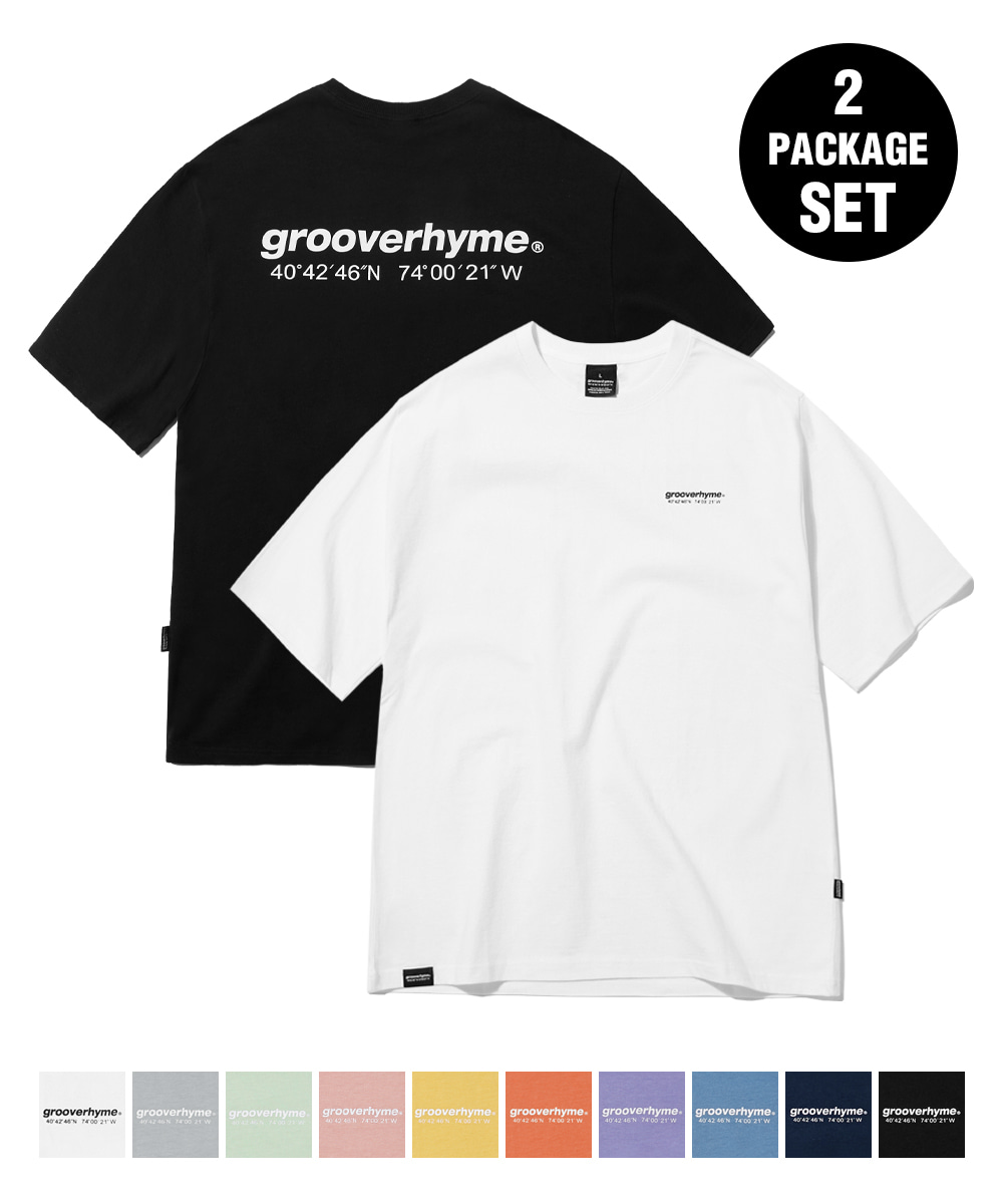 1+1 NYC LOCATION T-SHIRT (11COLOR) [GTS721I23]