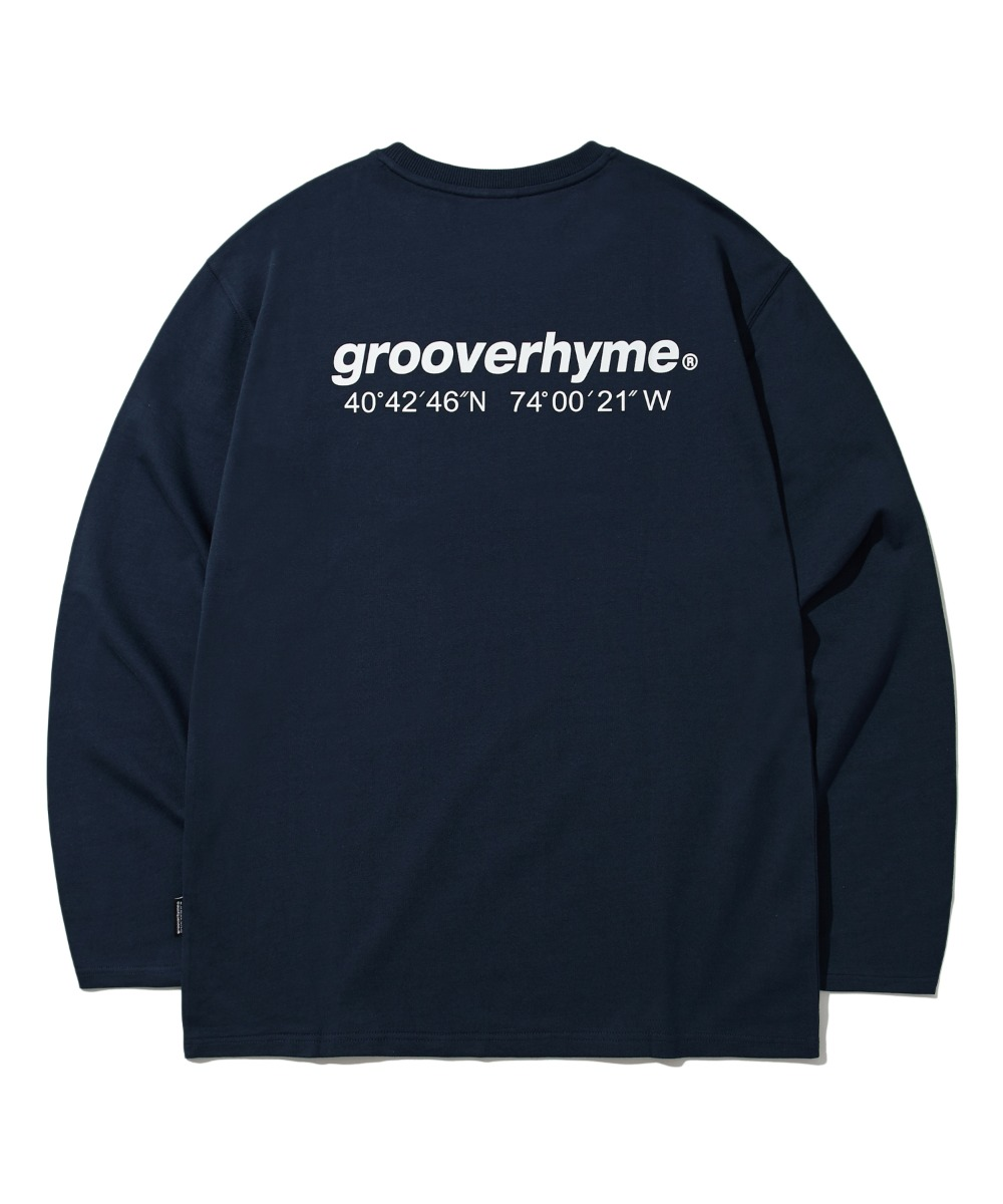 NYC LOCATION LONG SLEEVE T-SHIRTS (NAVY) [LROFCTR721MNAL]