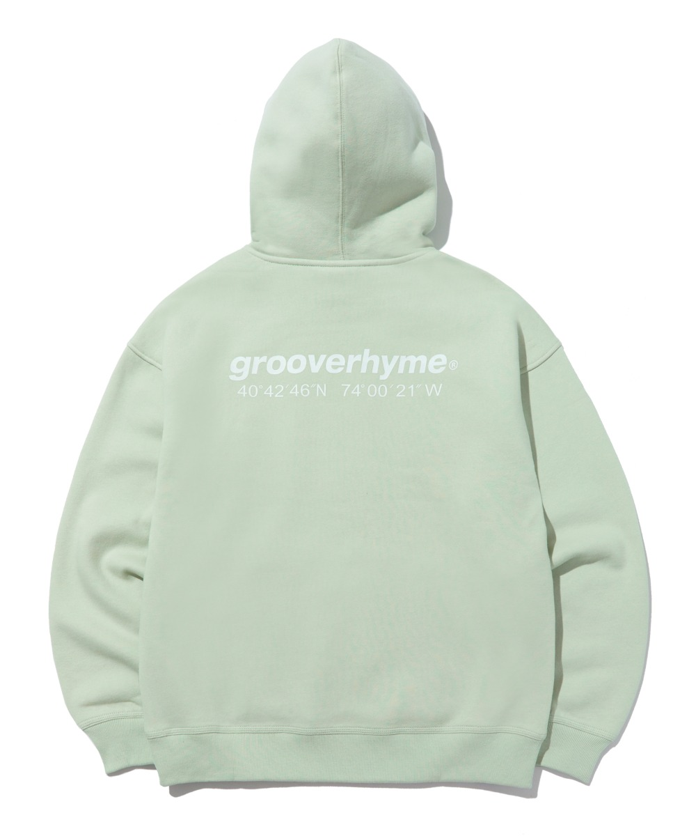 NYC LOCATION HOODIE (MINT) [LROWCTH731MMIA]
