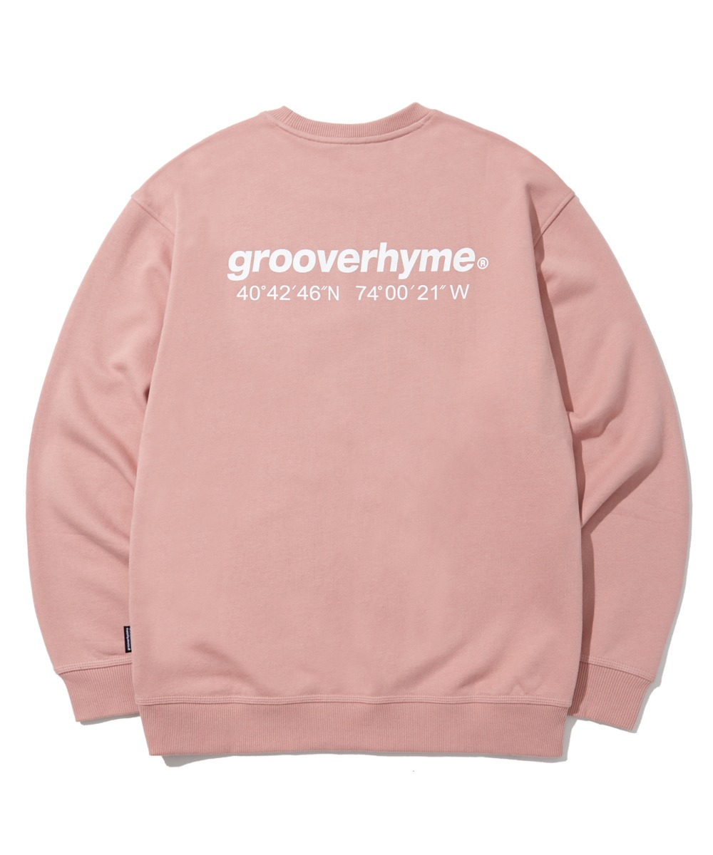 NYC LOCATION SWEAT SHIRTS (PINK) [LROFCTM711MPIA]