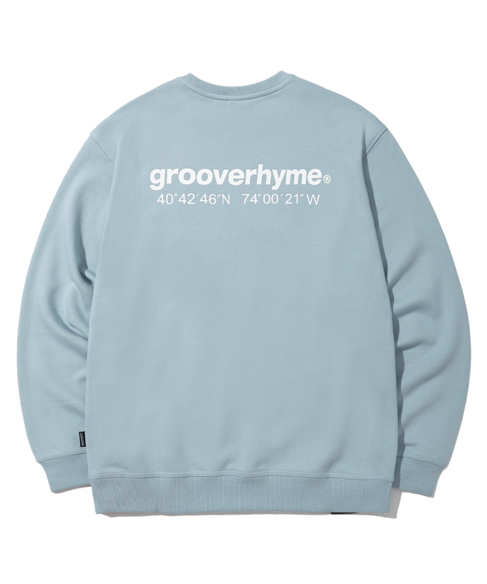 NYC LOCATION SWEAT SHIRTS (기모) (LIGHT BLUE) [LROWCTM712MBLL]