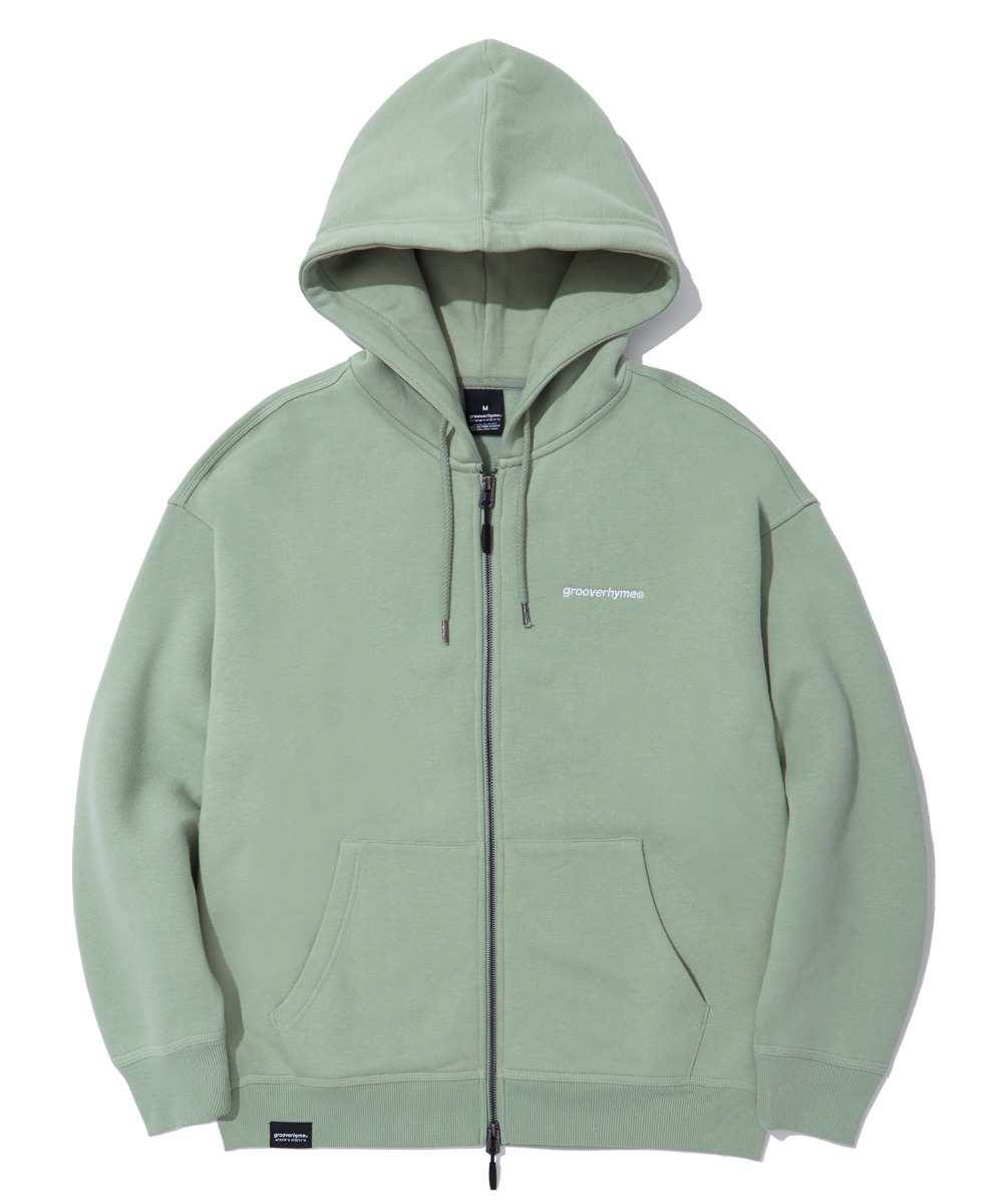 NYC LOCATION HOOD ZIP-UP (MINT) [LROWCTZ742MMIA]