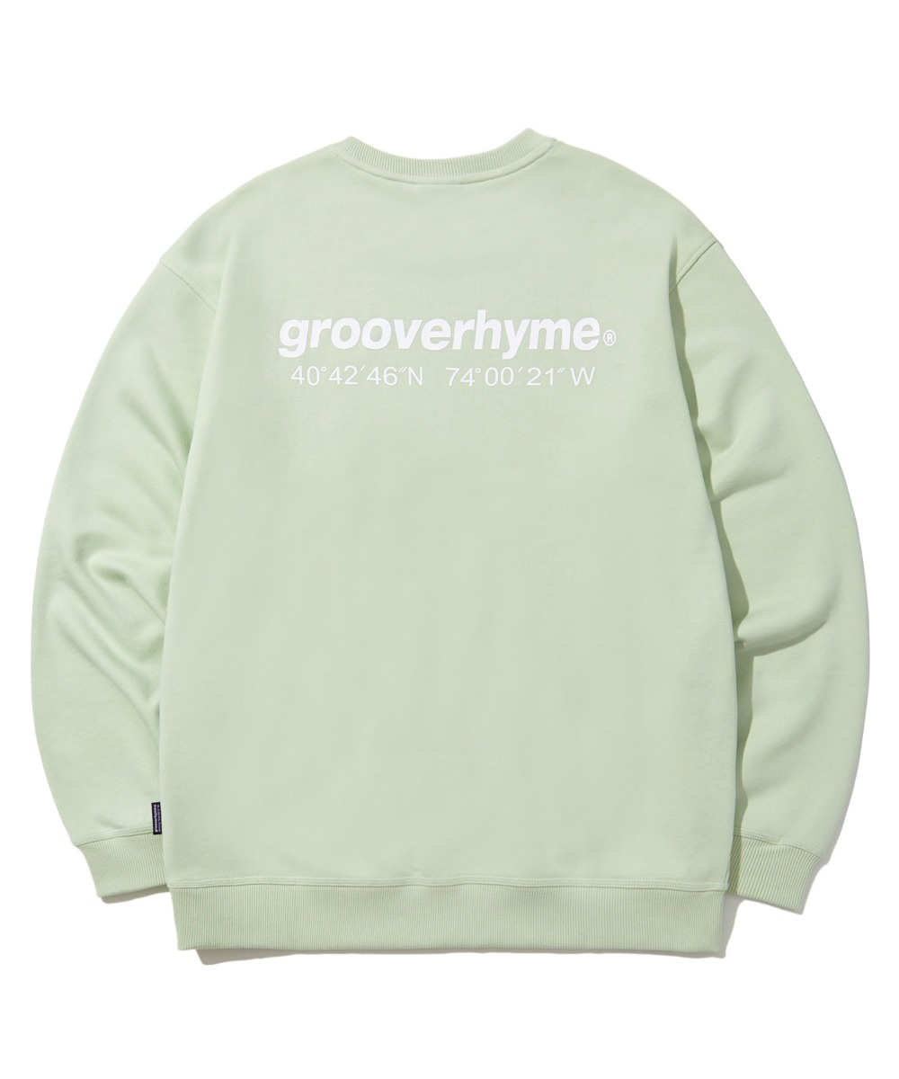 NYC LOCATION SWEAT SHIRTS (기모) (MINT) [LROWCTM712MMIA]