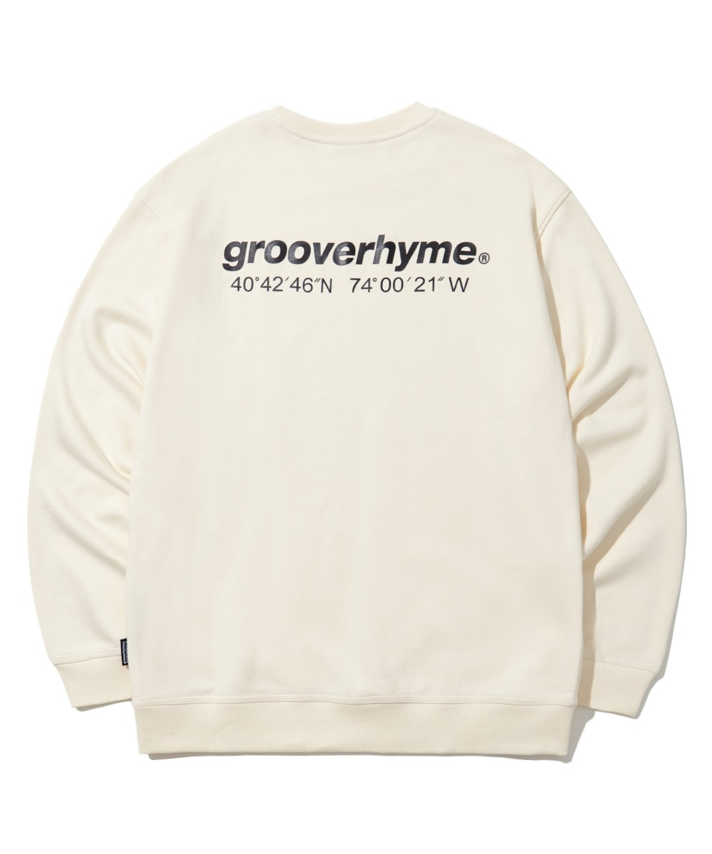 NYC LOCATION SWEAT SHIRTS (IVORY) [LROFCTM711MIVA]