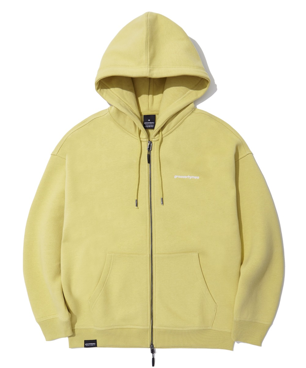 NYC LOCATION HOOD ZIP-UP (OLIVE) [LROWCTZ742MOVA]