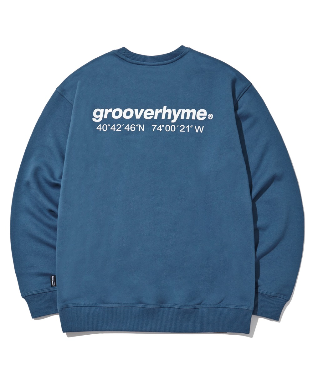 NYC LOCATION SWEAT SHIRTS (LIGHT NAVY) [LROFCTM711MNAL]