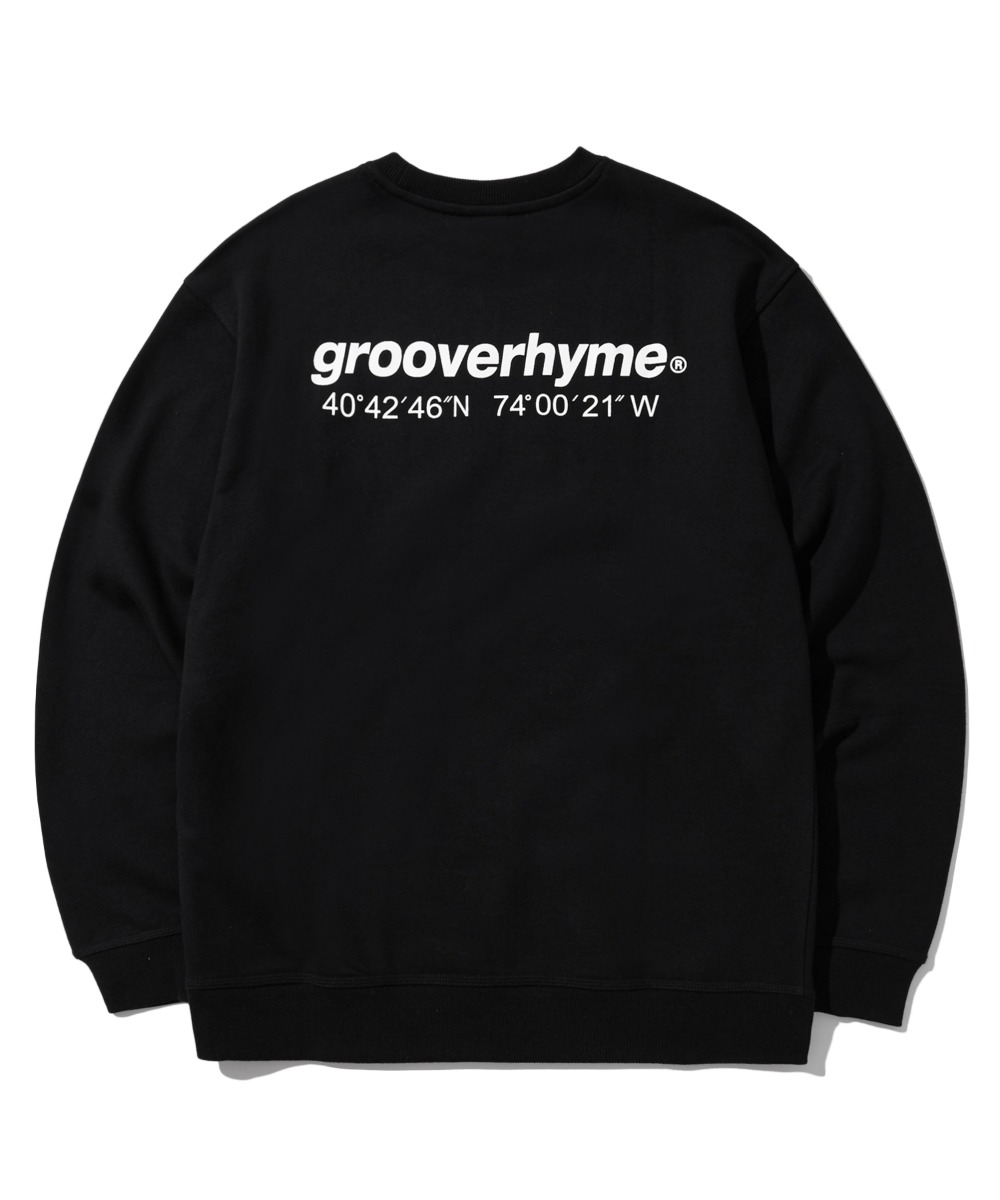 NYC LOCATION SWEAT SHIRTS (BLACK) [LROFCTM711MBKA]