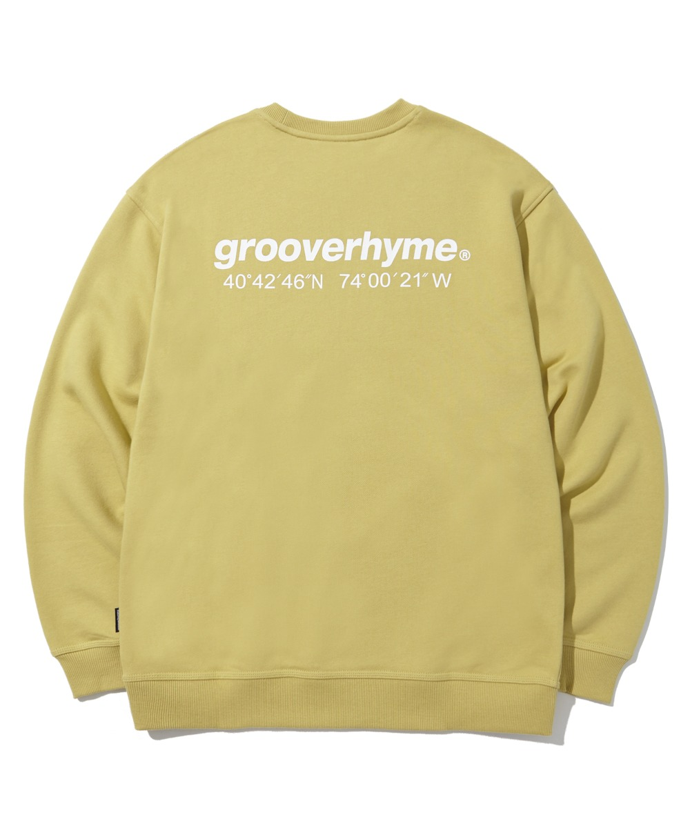 NYC LOCATION SWEAT SHIRTS (기모) (OLIVE) [LROWCTM712MOVA]