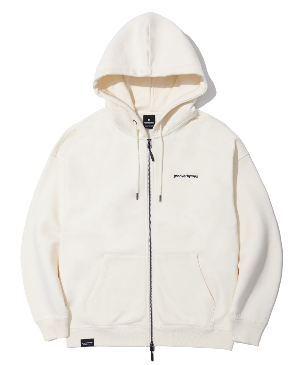 NYC LOCATION HOOD ZIP-UP (IVORY) [LROWCTZ742MIVA]