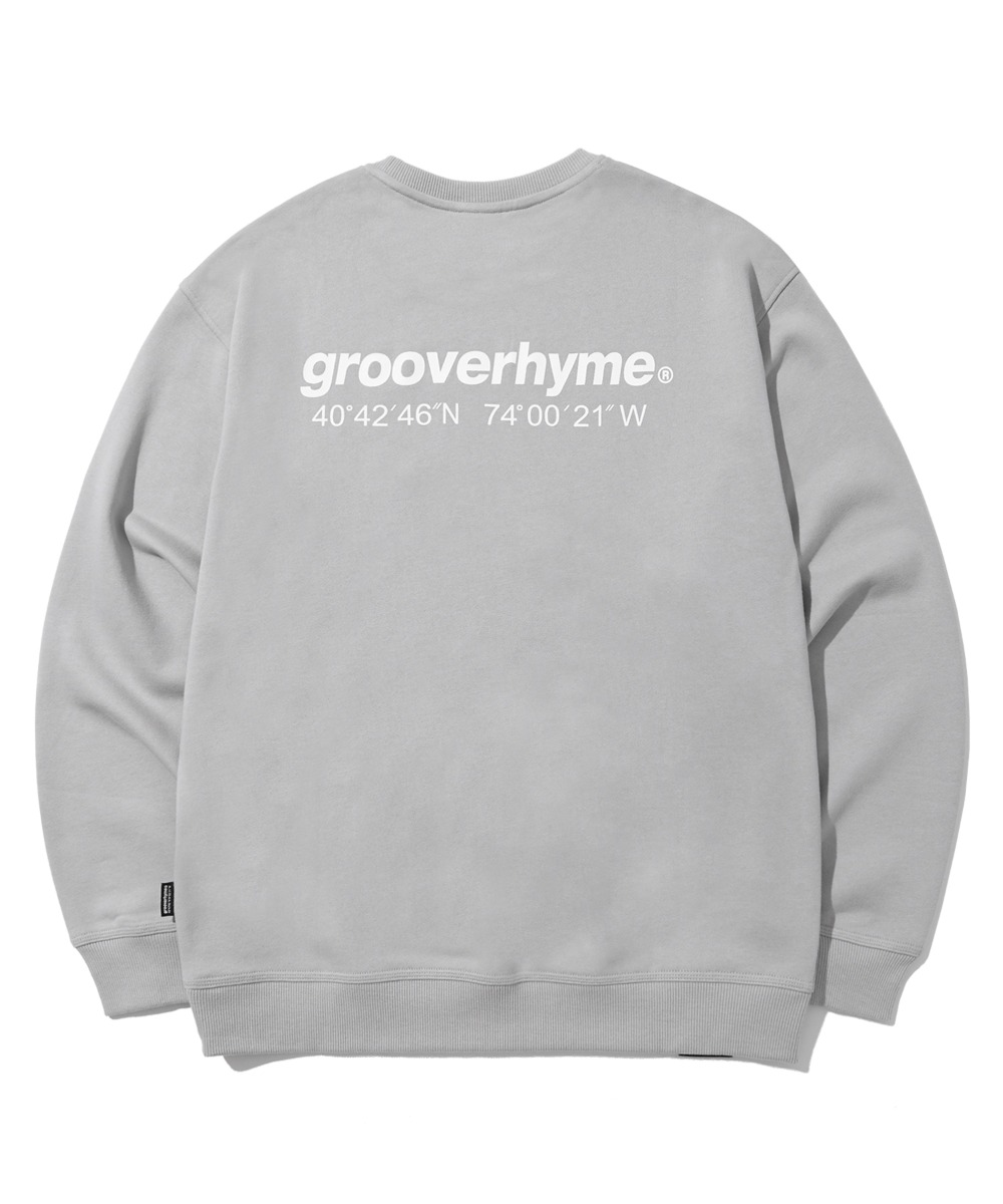 NYC LOCATION SWEAT SHIRTS (LIGHT GREY) [LROFCTM711MGYL]
