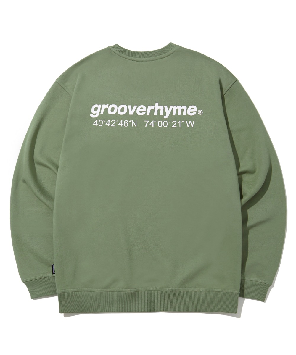NYC LOCATION SWEAT SHIRTS (기모) (LIGHT KHAKI) [LROWCTM712MKHL]