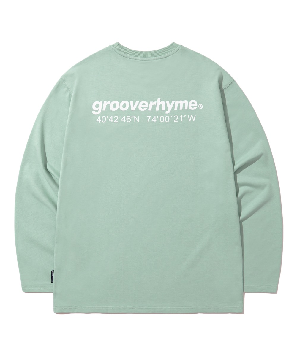 NYC LOCATION LONG SLEEVE T-SHIRTS (MINT) [LROFCTR721MMIA]