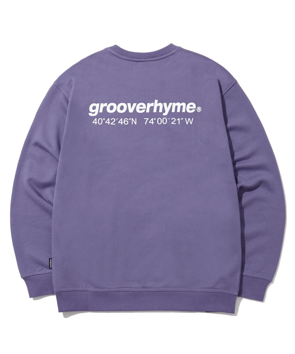 NYC LOCATION SWEAT SHIRTS (기모) (PURPLE) [LROWCTM712MPPA]