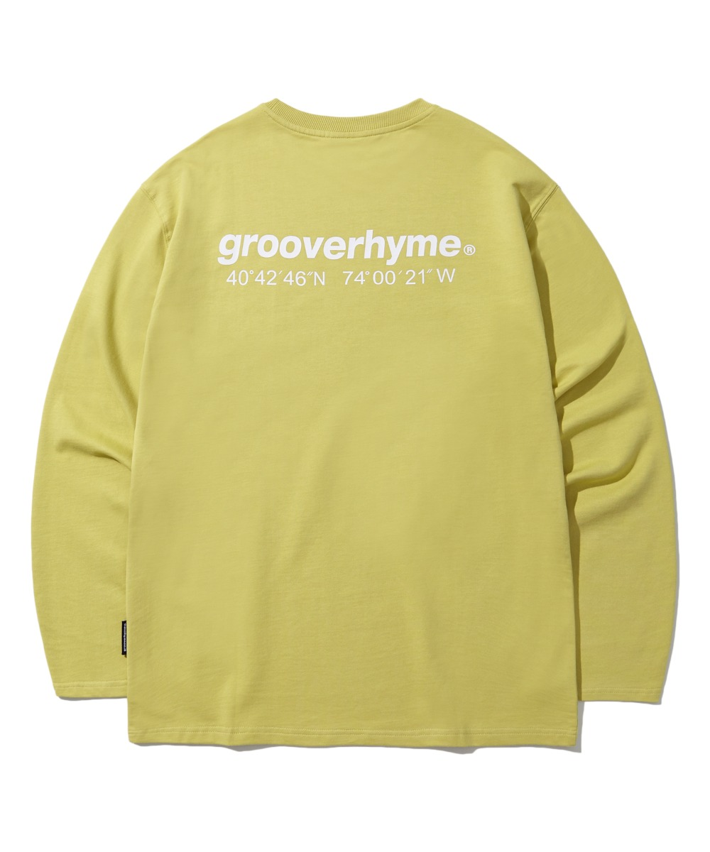 NYC LOCATION LONG SLEEVE T-SHIRTS (OLIVE) [LROFCTR721MOVA]