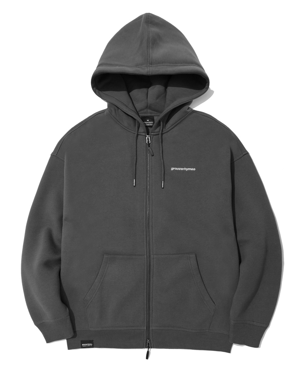 NYC LOCATION HOOD ZIP-UP (CHACAOL) [LROWCTZ742MCHA]