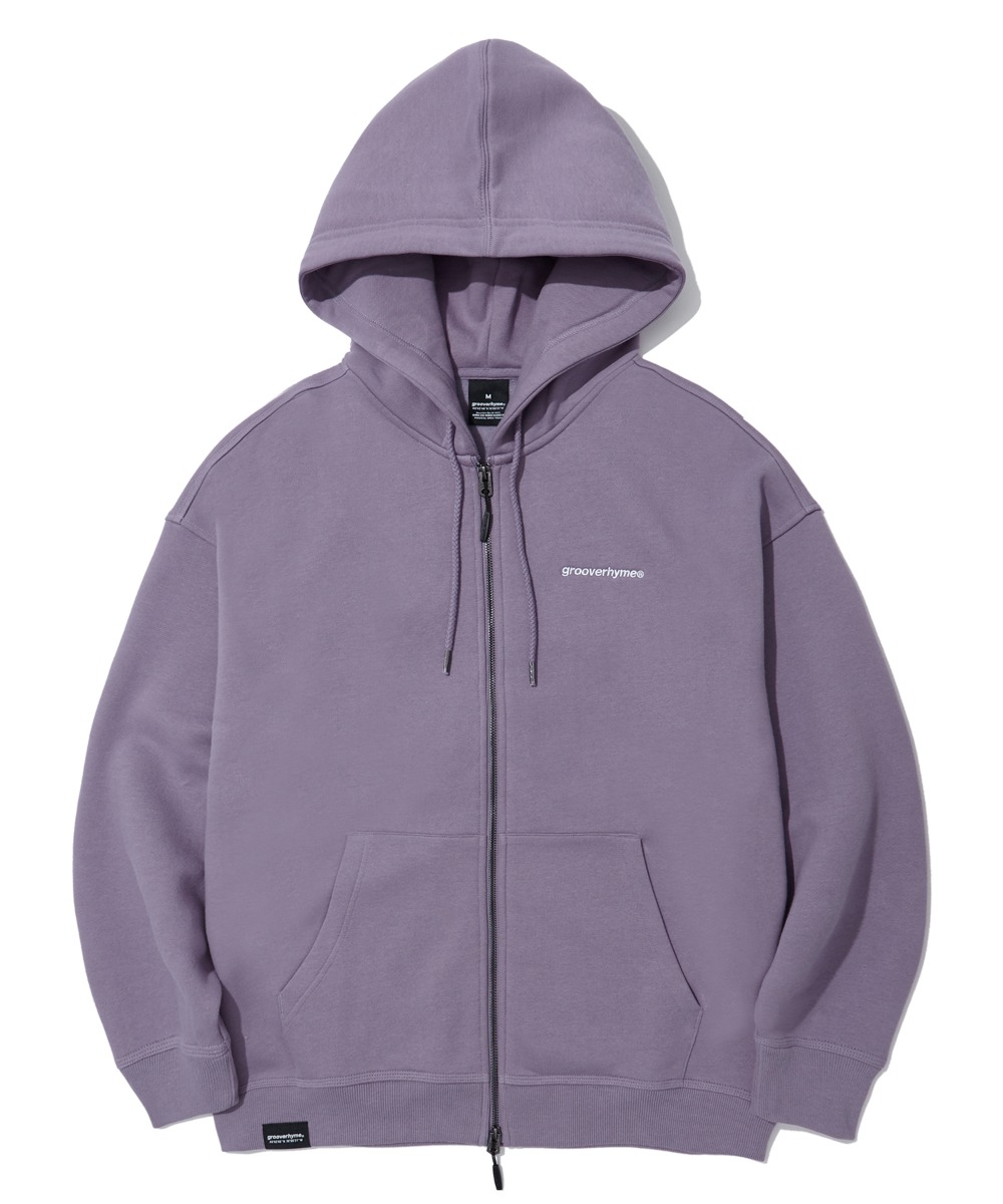 NYC LOCATION HOOD ZIP-UP (PURPLE) [LROWCTZ742MPPA]