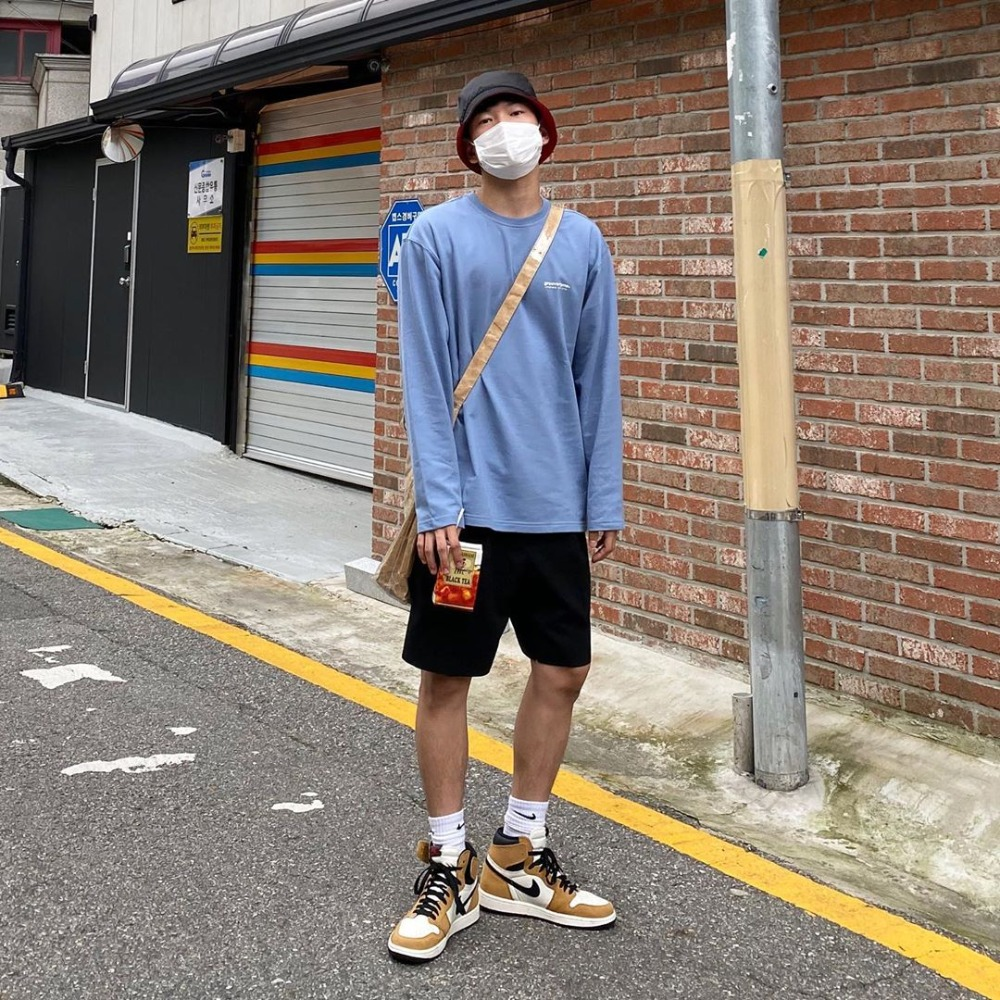 [STYLE] NYC LOCATION LONG SLEEVE T-SHIRTS (BLUE) [LROFCTR721MBLA]