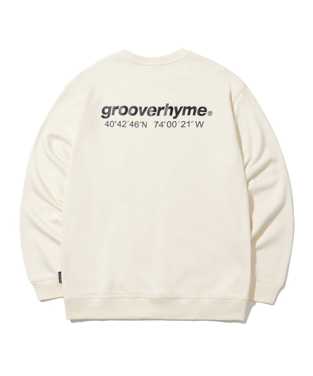 NYC LOCATION SWEAT SHIRTS (IVORY) [LRPSCTM301MIVA]