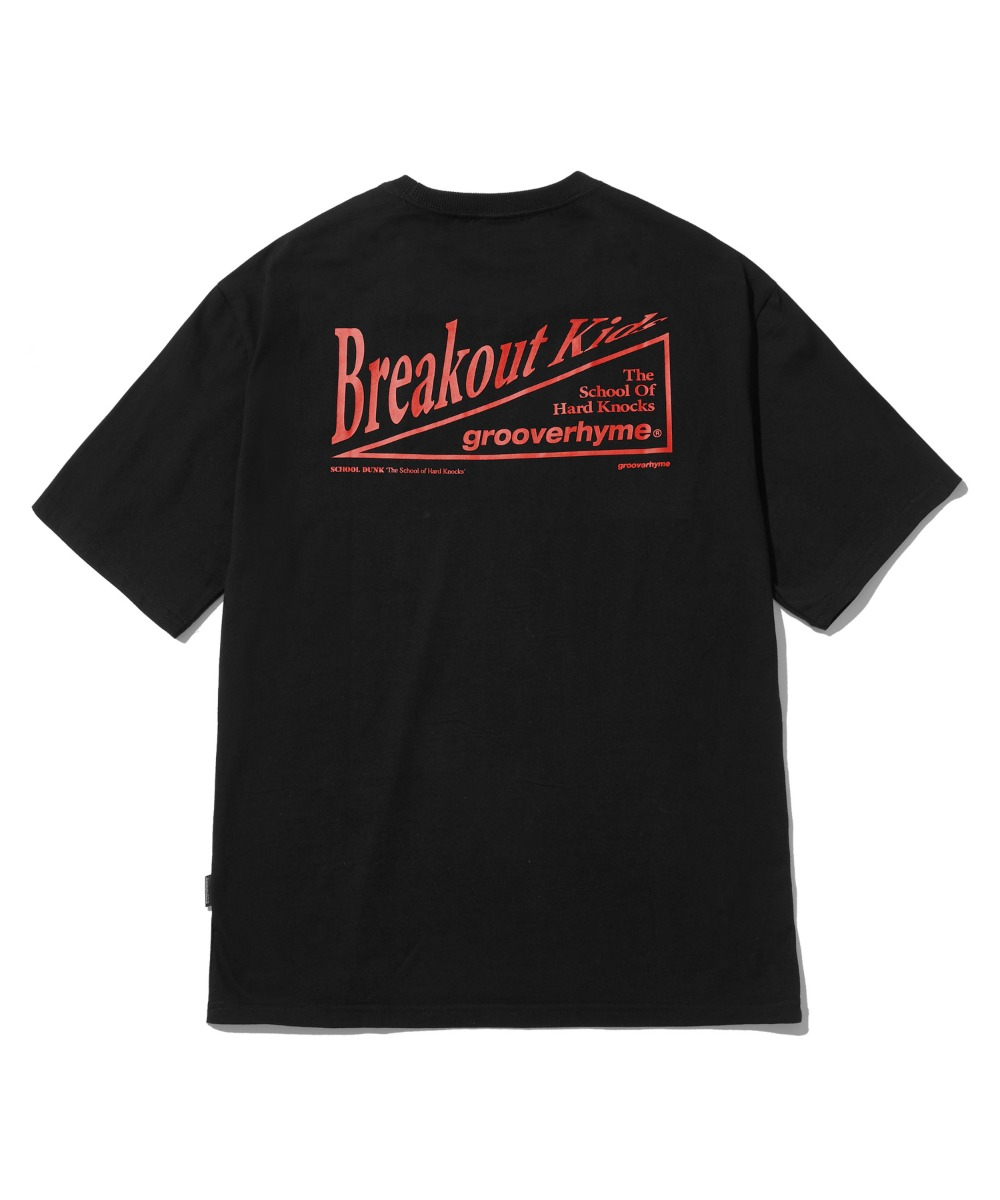 BREAKOUT KIDS T-SHIRTS (BLACK) [LRPMCTA438MBKA]