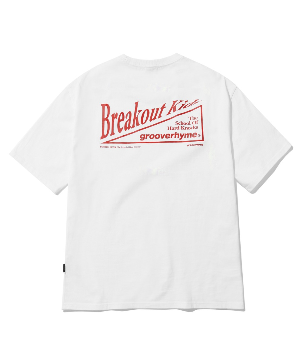 BREAKOUT KIDS T-SHIRTS (WHITE) [LRPMCTA438MWHA]
