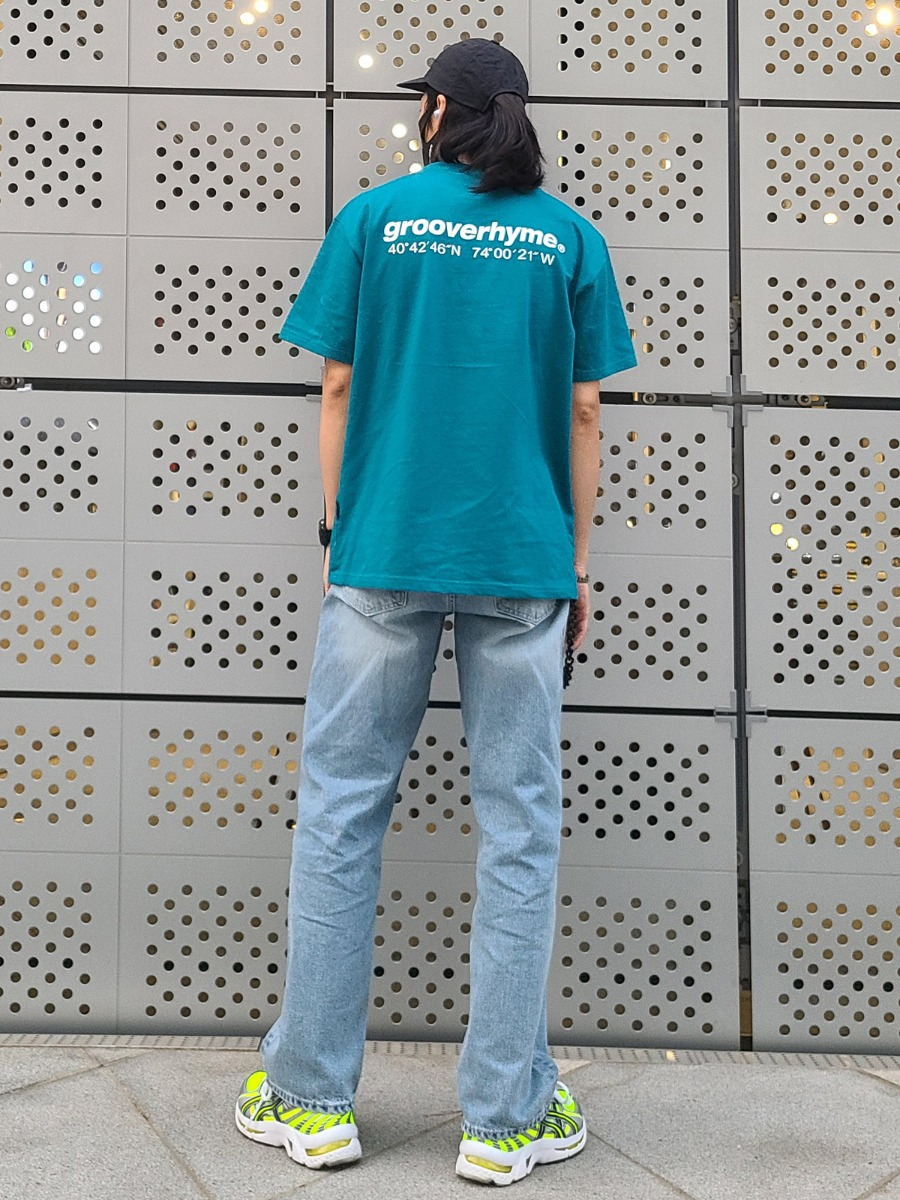 NYC Location T-shirts (Bluegreen)